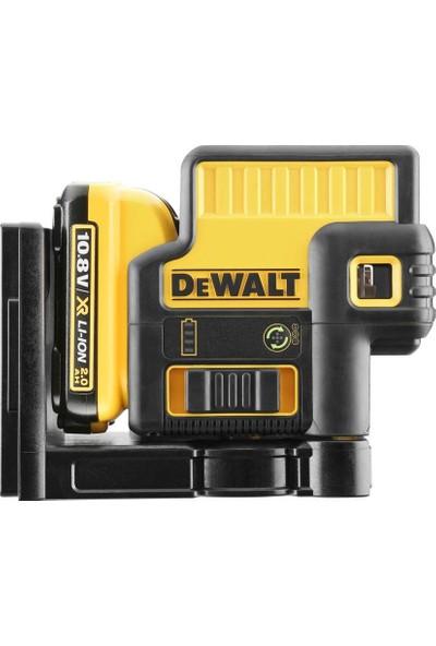 Dewalt Dce085D1G 10,8Volt/2,0 Ah Li-Ion 5 Işınlı Otomatik Hizalamalı Nokta Yeşil Lazer Distomat