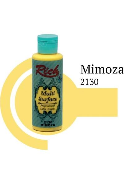 Rich Multi Surface 2130 Mimoza Boya Akrilik Boya 130 Cc