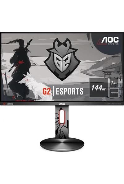 """AOC G2590PX/G2 24.5"""" 144Hz 1ms (Analog+HDMI+Display) FreeSync Full HD Oyuncu Monitör"""