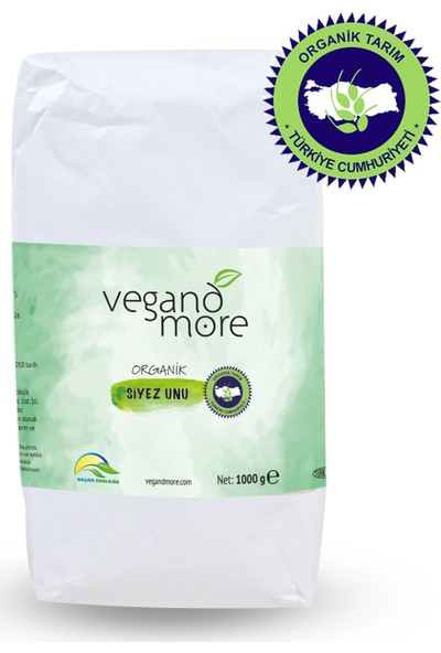 Vegandmore Organik Siyez Unu 1 kg