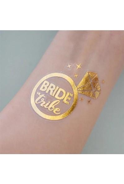 Partini Seç 10 Ad Team Bride Geçici Dövme