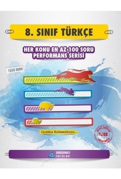 Cevdet Özsever 8.Sınıf Türkçe (Her Konu En Az 100 Soru)