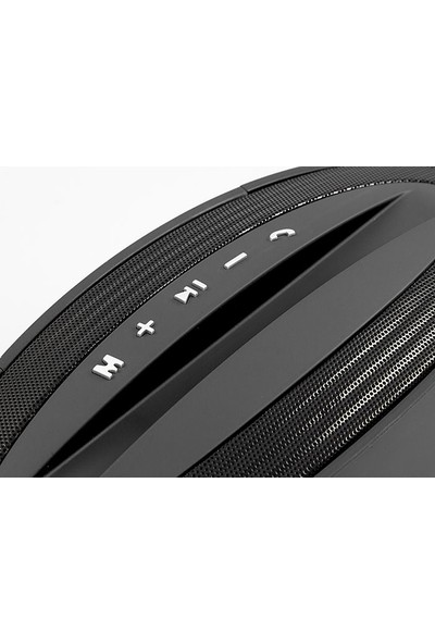 Mikado Md-2018Bt Siyah Bluetooth 5W Tf+Fm Destekli Speaker