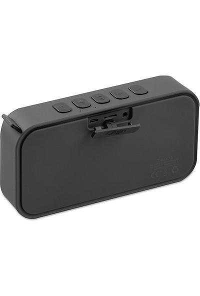 Mikado Md-55Bt Siyah Speaker Fm Destekli Bluetooth