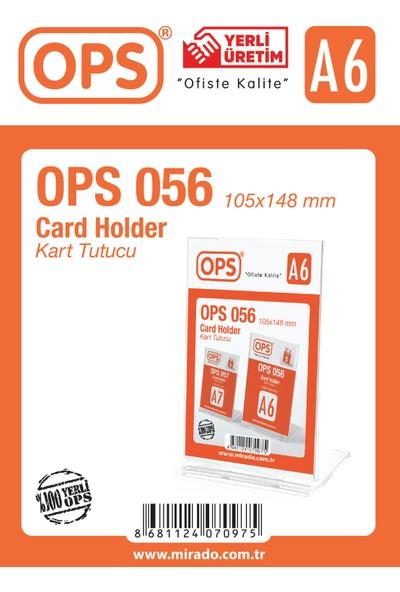 Ops 056 A6 Dikey Kart Tutucu