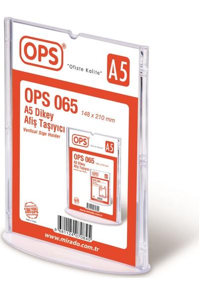 Ops 065 A5 Dikey Afiş Taşıyıcı