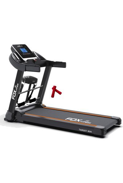 Fox Fitness Target 80H 2.60 Hp Motorlu Masajlı Koşu Bandı + 2 x 0,5 kg Neopren Dambıl Seti