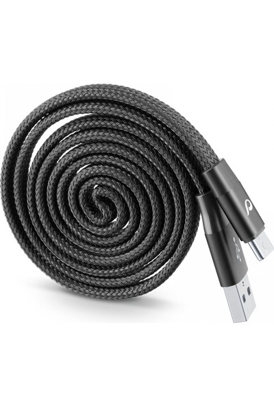 Cellularline Type-C Sarılabilir Yo - Yo Kablo - Siyah