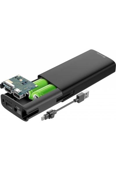 Cellularline Combo Harici Şarj Lightning Kablolu 6700 mAh