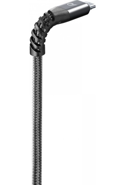 Cellularline Tetra Force 2m Micro USB Kablo - Siyah