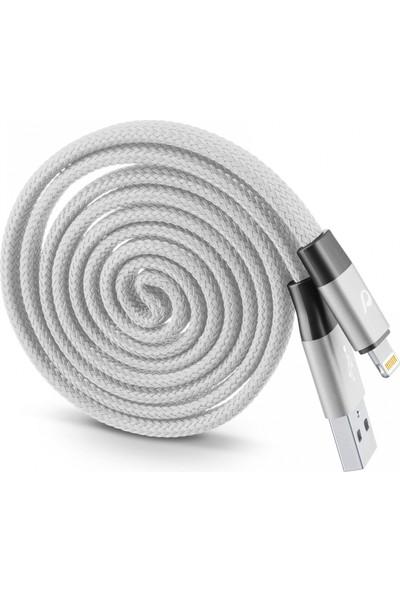Cellularline Lightning Sarılabilir Yo - Yo Kablo - Gri