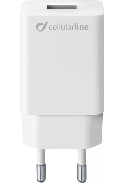 Cellularline USB Seyahat Şarjı Girişi 10W - Beyaz