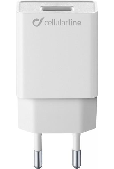 Cellularline USB Seyahat Şarjı Girişi 5W - Beyaz