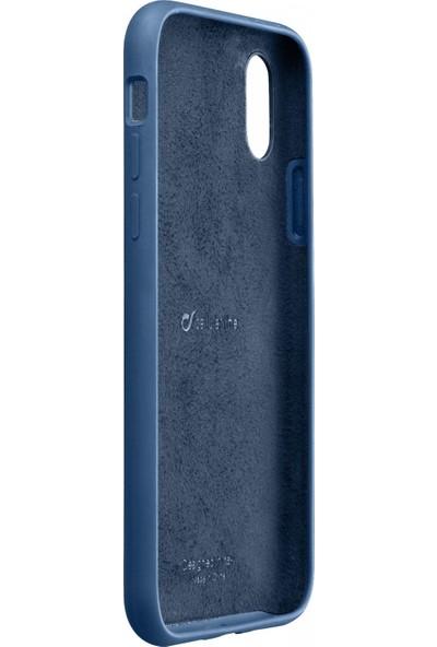 Cellularline iPhone XS Max Sensation Soft Kılıf - Mavi