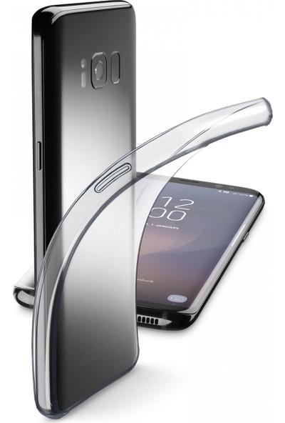 Cellularline Samsung S8 Fine Parlak Kauçuk Kılıf Şeffaf