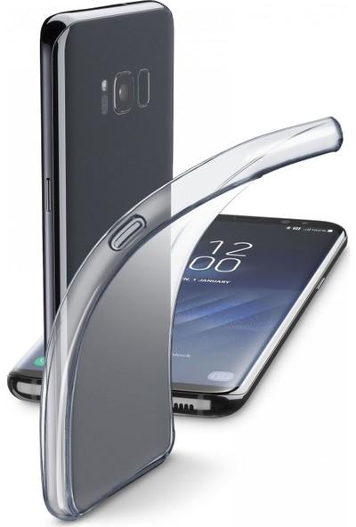 Cellularline Samsung S8 Plus Fine Parlak Kauçuk Kılıf Şeffaf
