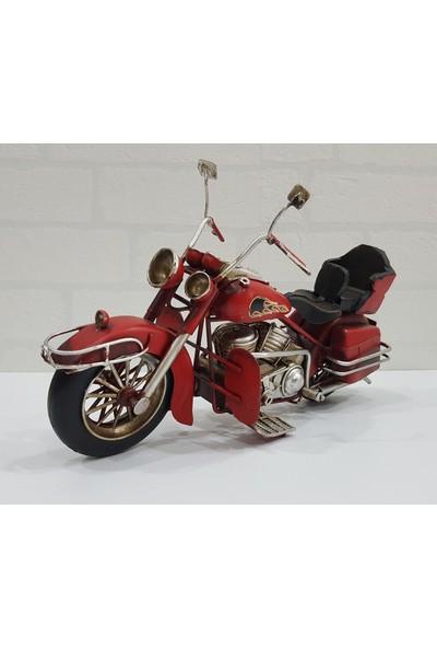 Evim Tatlı Evim Dekoratif Metal Motosiklet Indıana 29 cm