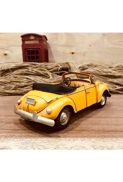 Evim Tatlı Evim Üstü Açık Dekoratif Sarı Vosvos 25 cm