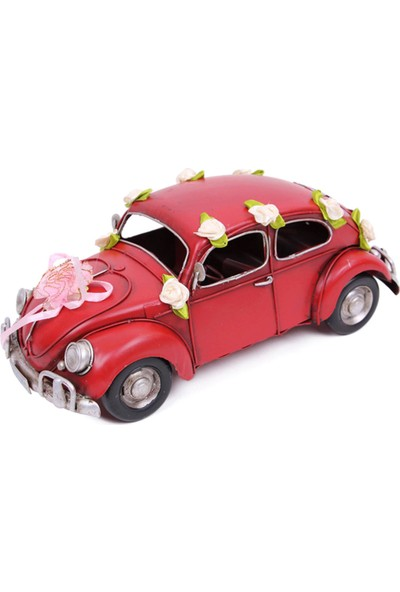 Evim Tatlı Evim Nostaljik Kaplumbağa Gelin Arabası 24 cm