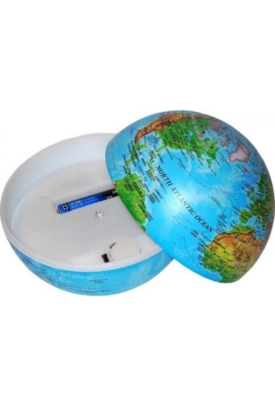 Evim Tatlı Evim Led Işıklı 360 Derece Dönen Sihirli Dünya