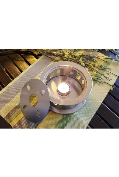Evim Tatlı Evim Çaydanlık Ve Tencere Altı Çelik Isıtıcı