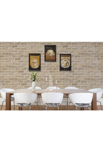 Evim Tatlı Evim Cafe Mocha Tablo 33×23,5 cm