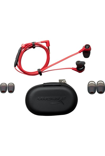 Kingston HyperX Cloud Earbuds Kulakiçi Kulaklık HX-HSCEB-RD