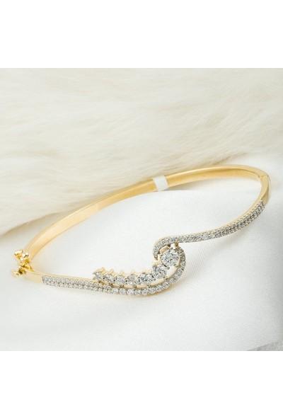 Label Jewelry Sırataşlı 14 Ayar Altın Bilezik