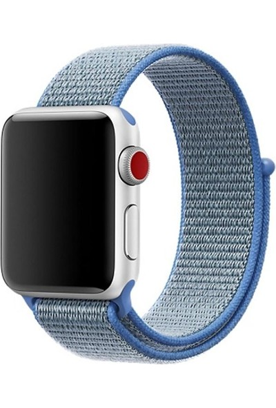 Booyse Apple Watch 2-3-4 Serisi Uyumul Spor Loop Örgülü Saat Kordon Kayış - 38 - 40Mm