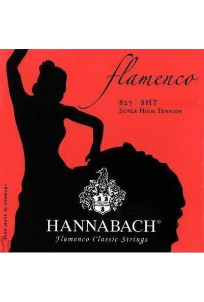 Hannabach 827 Sht Flamenko Gitar Teli (Alt 3Lü Set)