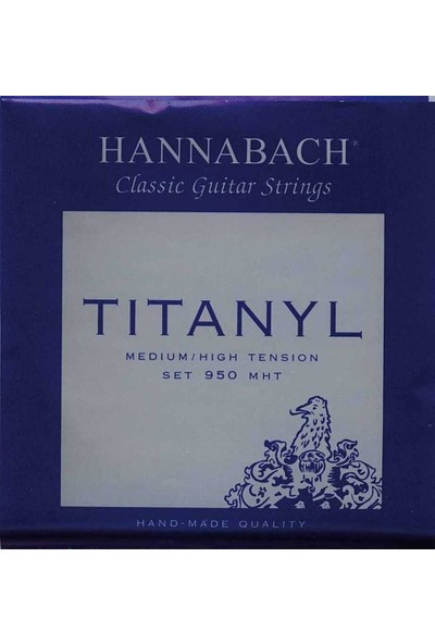 Hannabach Titanly 950 Mht Klasik Gitar Teli