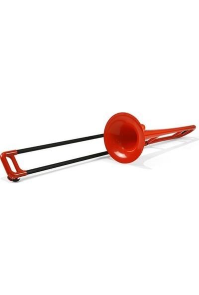 Pbone Kırmızı Plastik Tenor Trombon