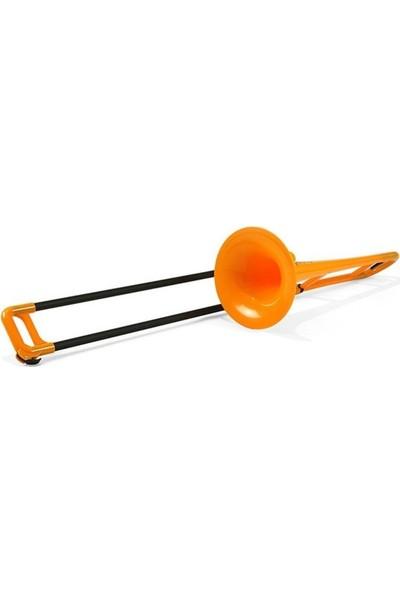 Pbone Turuncu Plastik Tenor Trombon