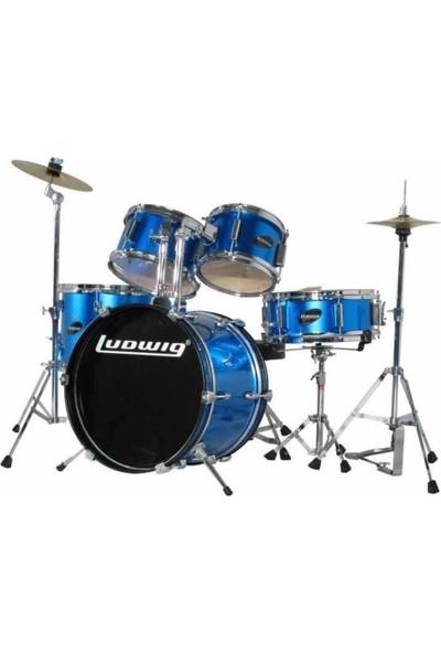 Ludwig Ljr1062 Junior Acccent Blue Akustik Davul Seti (5 Pc)
