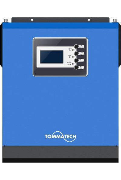 Tommatech New 3 Kva Tam Sinüs İnvertör 3750VA 3000W 24v