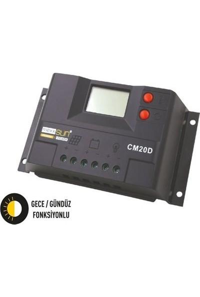 Mexxsun 10 Amper Solar Şarj Kontrol Cihazı Regülatör Lcd Mexxsun