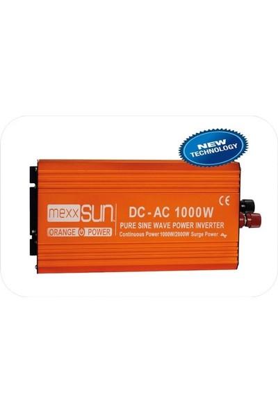 Mexxsun 1000W-2000W 24V Tam Sinüs İnverter Çevirici İnvertör Mexxsun