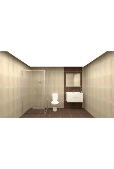Vi̇tra Bi Banyo Eco Set 2 Elegant Krem