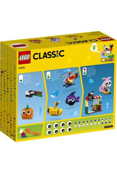 LEGO Classic 11003 Yapım Parçaları ve Gözler