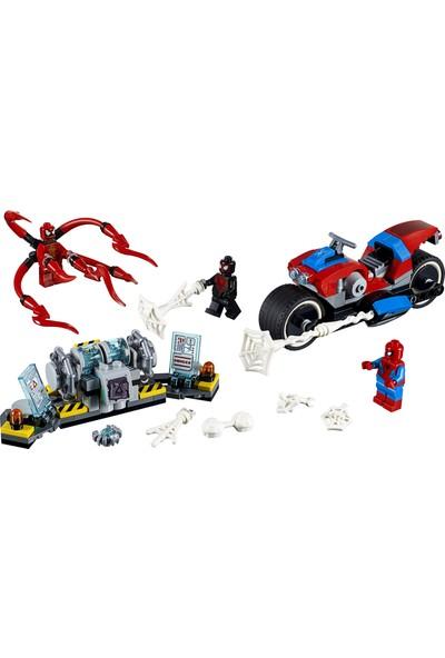 LEGO Super Heroes 76113 Spider-Man Motosikletli Kurtarma