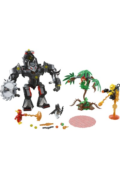 LEGO Super Heroes 76117 Batman™ Robotu Poison Ivy™ Robotuna karşı