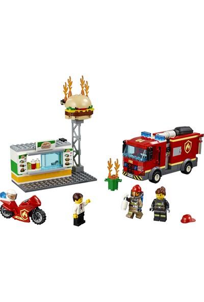 LEGO City 60214 Hamburgerci Yangın Söndürme Operasyonu