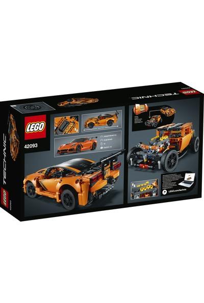 LEGO Technic 42093 Chevrolet Corvette ZR1 Yapım Kiti (579 Parça) Çocuk ve Yetişkin Araba Oyuncak Hobi Hediye Koleksiyon
