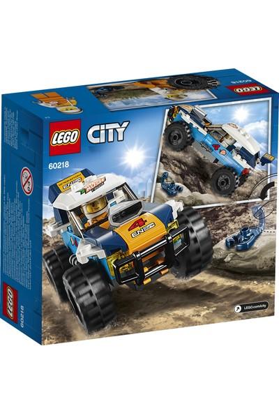 LEGO City 60218 Çöl Rallisi Yarış Arabası
