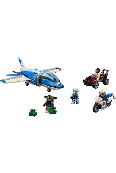 LEGO City 60208 Gökyüzü Polisi Paraşütle Tutuklama