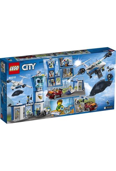 LEGO City 60210 Gökyüzü Polisi Hava Üssü