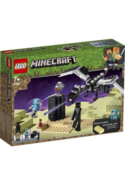 LEGO Minecraft 21151 End Savaşı