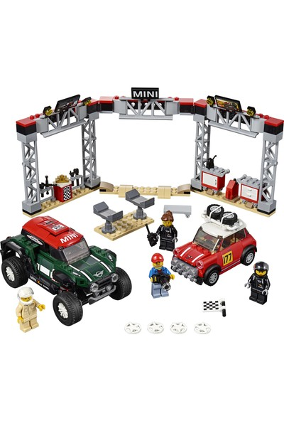 LEGO Speed Champions 75894 1967 Mini Cooper S Ralli ve 2018 MINI John Cooper Works Buggy
