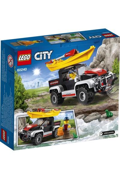 LEGO City 60240 Kano Macerası