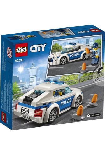 LEGO® City Polis Devriye Arabası 60239 Yapım Seti Erkek Kız Çocuk Oyuncak Hediye